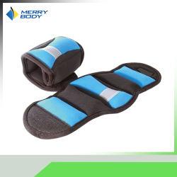 Neopreno de alta calidad en el tobillo se envuelve el peso de la muñeca de Fitness sacos de arena