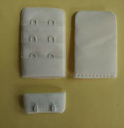 "Microfiber 가장자리 덮은 훅 및 눈 테이프 1/2 "" 3X2 브래지어 부속품"