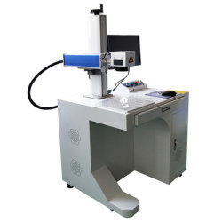 30 watts 50 Watts machine de marquage au laser pour les ustensiles en plastique en laiton et ss
