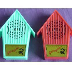 Forma de la casa de aves Canarias timbre de Sonido de timbre
