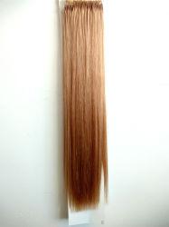 Menselijke Haar van het Haar van Remy van het Haar van de Uitbreiding van het Haar van de Draad van de Knoop van de Trekkracht van de Kleur 18inch van het Haar van de Kwaliteit van de premie het Populaire Braziliaanse 12# Gemakkelijke Maagdelijke
