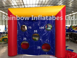 Mini Size Indoor Outdoor Inflatable Penalty Shooting Games