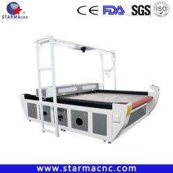Textil-/Gewebe-/Tuch-/Kleid-Ausschnitt-Maschinen-Laser mit führendem SelbstcCD