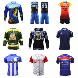 Polo Shirt personnalisé Hoodie Rugby Baseball Basket-ball de pêche de soccer de volley-ball Hockey vêtements sportswear Jersey uniforme