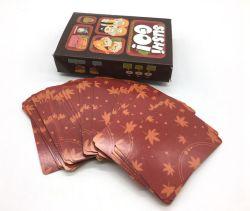 Verstrekt de Vrije Steekproef van de Speelkaart van het Ontwerp van de Druk van de douane Pook van de Kaarten van het Spel de Goedkope Buitensporige voor Volwassenen