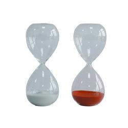 Misst Form-bunter Sand GlasSandglass Hourglass-Timer-Raum-glattes Glas den Hauptschreibtisch-Dekor-Weihnachtsgeburtstag-Geschenkhourglass-Sand-Timer Heiß-Verkauf