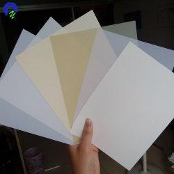 Duro anti-UV de plástico rígido blanco brillante hojas de PVC Lampshade