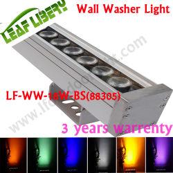 Lampada impermeabile dell'indicatore luminoso LED della rondella della parete dell'indicatore luminoso di inondazione di DC24V LED