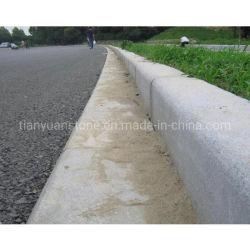 Preiswerter Granit-Bordstein, der Gehsteige für die Pflasterung der Fahrstraße landschaftlich verschönert