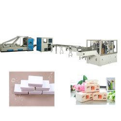 Saco de nylon totalmente automático Máquina de Papel Tissue Facial da linha de produção