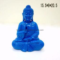 Couleurs personnalisées moderne de la résine de petites sculptures de Bouddha de l'artisanat délicate