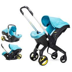 Wandelwagen 3 van de baby in 1 Kinderwagen van de Wandelwagen van de Baby van de Wandelwagen van de Systemen van de Reis Europese Vouwbare Draagbare Aanstotende Pasgeboren
