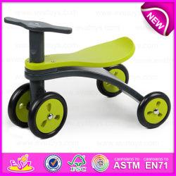 Nuevo estilo Kids triciclo de madera, el fabricante de juguetes para bebés Seguridad triciclo de madera, viaje en coche W16A021