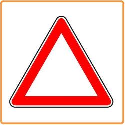 Предупреждение системы безопасности дорожного движения подписать треугольник / алюминиевые пластины трафик дорожных знаков