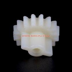 Rotella di attrezzo di plastica personalizzata del piccolo PE di bianco UHMW per il giocattolo