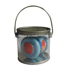 صندوق غطاء بلاستيكي من البلاستيك مصنوع من مادة PVC عالي الجودة مع مقبض