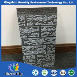 Retardante de fogo de aço galvanizado com isolamento de espuma de poliuretano de painéis de parede
