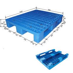 HDPE 또는 PP 선반 공장 유럽 플라스틱 깔판 1000X800mm 메시 3 미끄럼