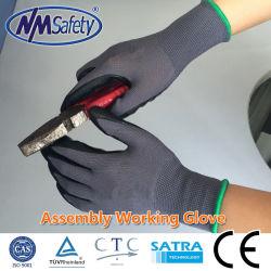 Nmsafety Mikroschaumgummi-Nitril-überzogene maximale Flexautomobilsicherheits-Arbeitshandschuh