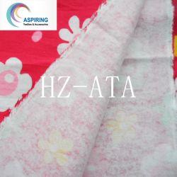 80%20%flanela de poliéster de algodão para vestuário de malha
