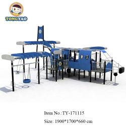 Новый материал PE оборудования самолета, дети весело открытый парк игрушки