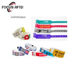 Nueva llegada de la moda Pulsera RFID NFC desechables