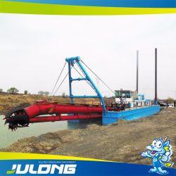 Het Uitbaggeren van het Zand van de Baggermachines van Julong Schip