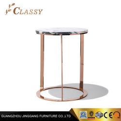 고전적인 디자인 홈 가구 대리석 측 테이블