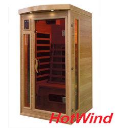 De verre Infrarode Draagbare Sauna van de Zaal van de Sauna voor Mensen 1 (sek-CP1)