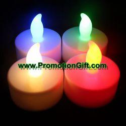 Candela senza fiamma elettrica dell'indicatore luminoso del tè della decorazione LED