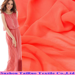 De Chiffon van Spandex van de polyester en Elastische Georgette voor Kleding