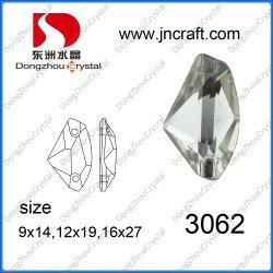 El vidrio coser ropa de moda en la perla (DZ-3062)