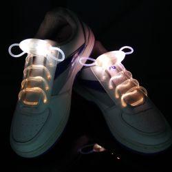 Fiesta de Navidad LED Shoelace Platube alimentación