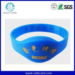 Mit Logo Bedruckte UHF-RFID-Party-Armbänder nach ISO15693