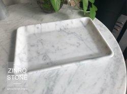 Plaque en pierre plaque de marbre Bianco Carrara blanc Blanc Bianco Carrara