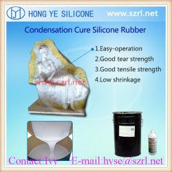 1: 1 ración de mezcla de caucho de silicona para moldes de neumáticos