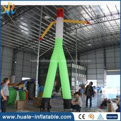 Coloridos inflables de alta de aire de bailarina a la venta de publicidad