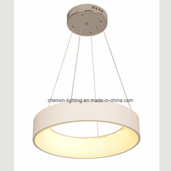 De ronde LEIDENE Acryl Hangende Lamp van de Tegenhanger voor de Decoratie van het Huis
