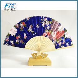 Costillas de bambú caliente el patrón de los Cerezos en flor abanicos plegables