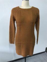 Câble de la laine tricot acrylique Pull Pull