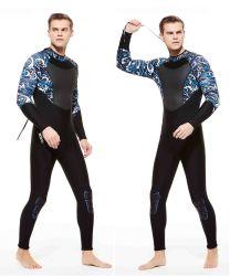 Tamanho total High-Elastic Anti-UV Neoprene Manga Longa Neoprene 3mm mergulho adequados para mergulho