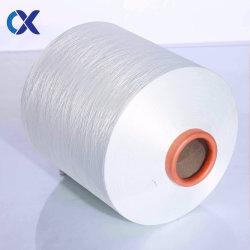 100%Polyester ruw Wit DTY Garen 150/48 de Rang van SIM aa