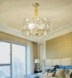 Moderno e da moda lustre de cristal luz pendente Terminar em ouro polir