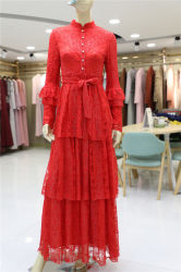 2019 spätestes Entwurfs-Frauen-moslemisches Maxi Kleid Abaya reizvolles Verband-Kleider Bobycon Kleid-Frauen-Kleiden