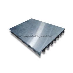 Tôle de toit ondulé pour les matériaux de construction