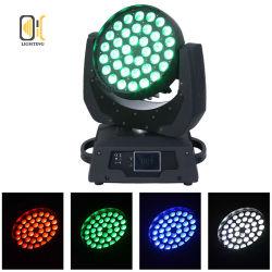 Промойте зум освещения 36X10W RGBW 4в1 светодиод перемещения передних фар