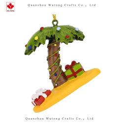 Commerce de gros de la Résine d'usine OEM Xmas Palm Tree Décoration de Noël