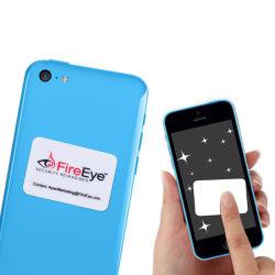 Niedrige Kosten-Geschenk-Feld-Mobiltelefon Microfiber Bildschirm-Reinigungsmittel-Aufkleber