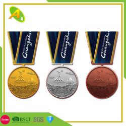 Sport personnalisé de la Couronne de métal découpé Trophée de la médaille d'arts martiaux (274)
