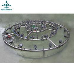 La Plaza Jardín Agua Fuente de música de baile con el sistema de control